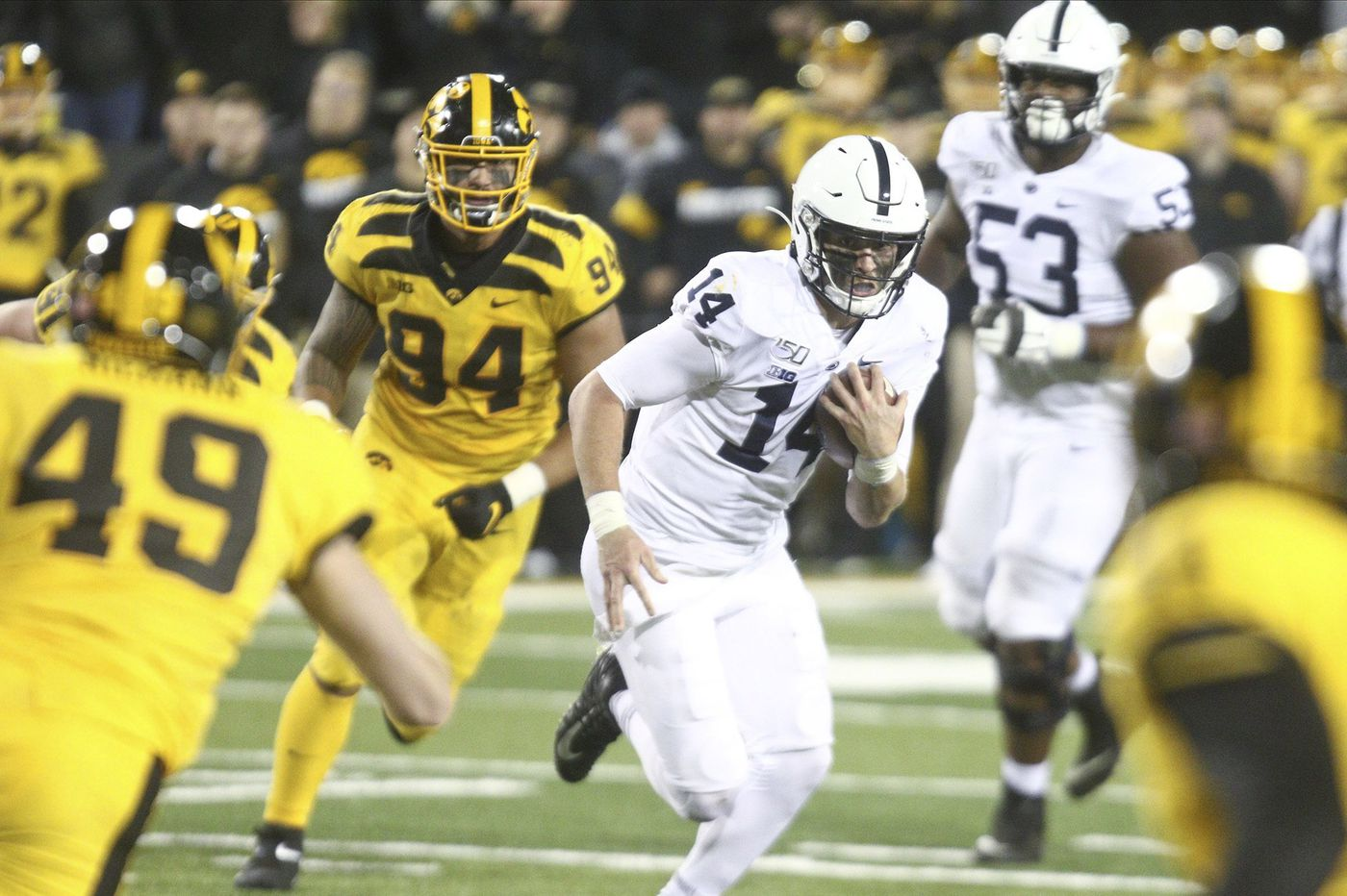 Quarterback Sean Clifford's running is an added element for Penn State offense