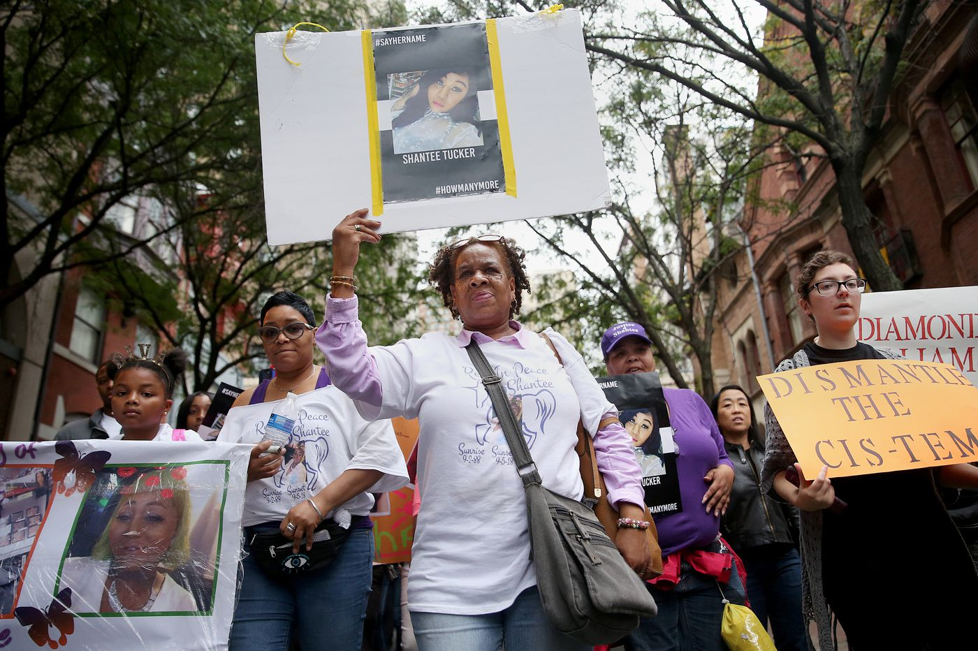 Philly trans community marches against violence