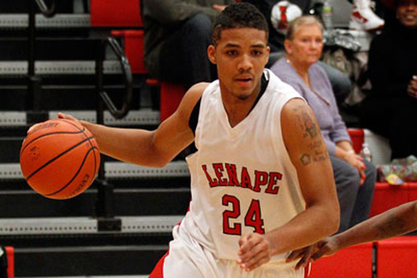 Tabu Gaither makes most of Lenape's deliberate style