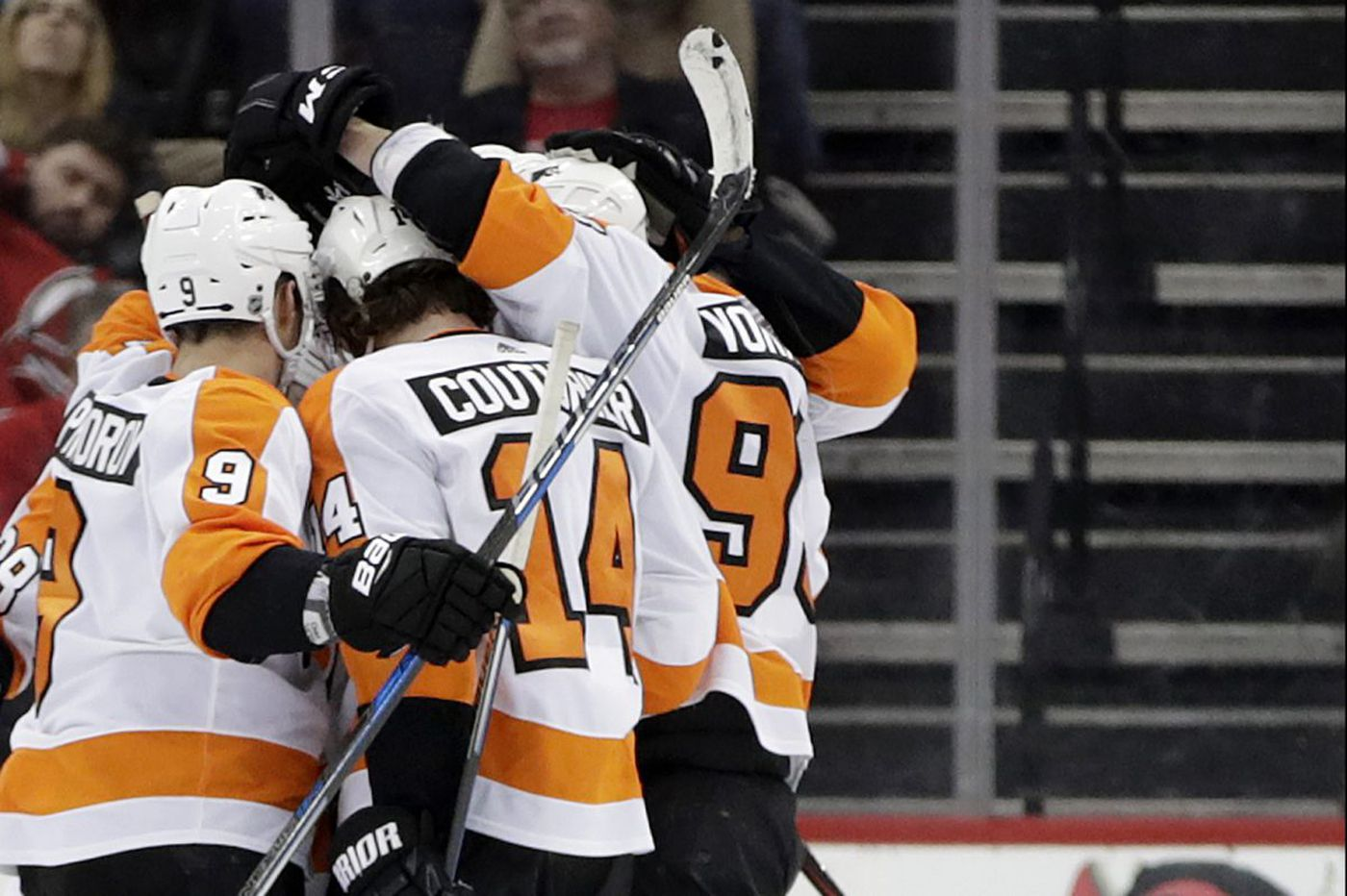 Sean Couturier, power play stay hot as Flyers continue surge