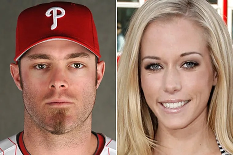 Phillies outfielder Jason Werth looks to maintain his healthy mane, and Kendra Wilkinson says she won't waste any time starting a family with Hank Baskett.