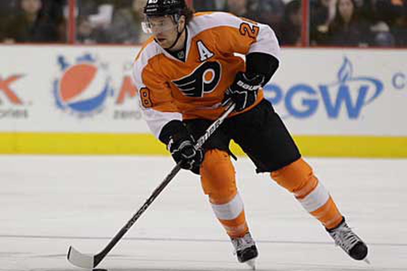 Flyers' Giroux remains sidelined with concussion