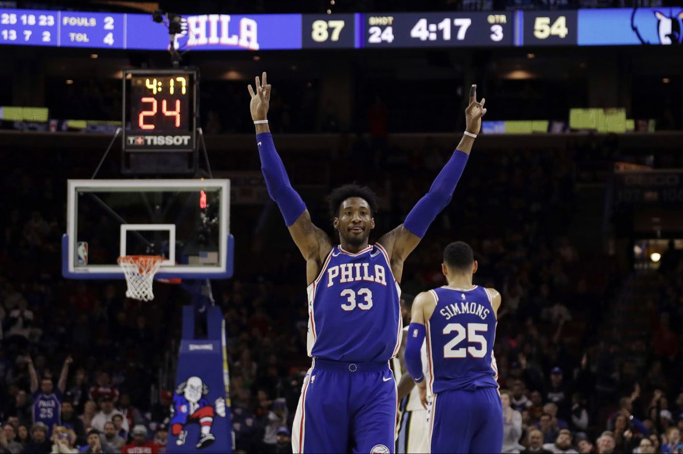 The Sixers are chasing the No. 3 seed, and the stakes are high | David Murphy