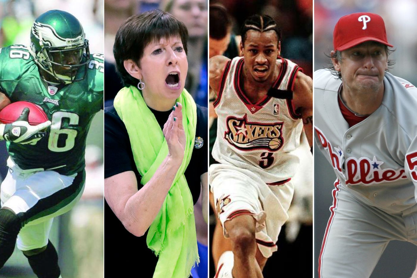 Allen Iverson, Brian Westbrook, Muffet McGraw headline 2018 Philly Sports Hall of Fame class