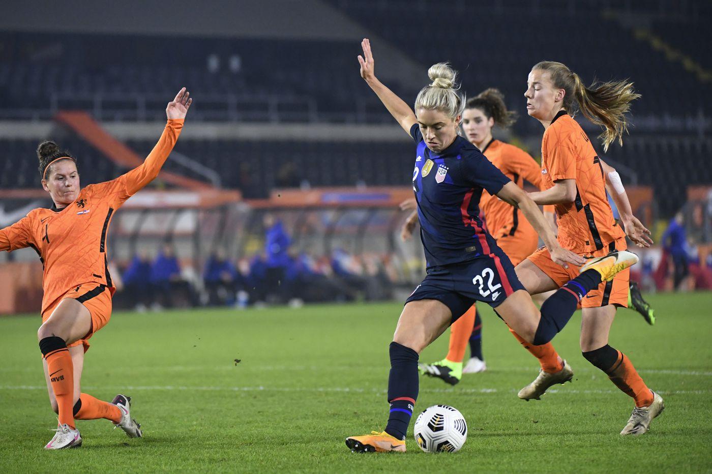 U.S. women's soccer team beats Netherlands, 2-0, in World Cup rematch