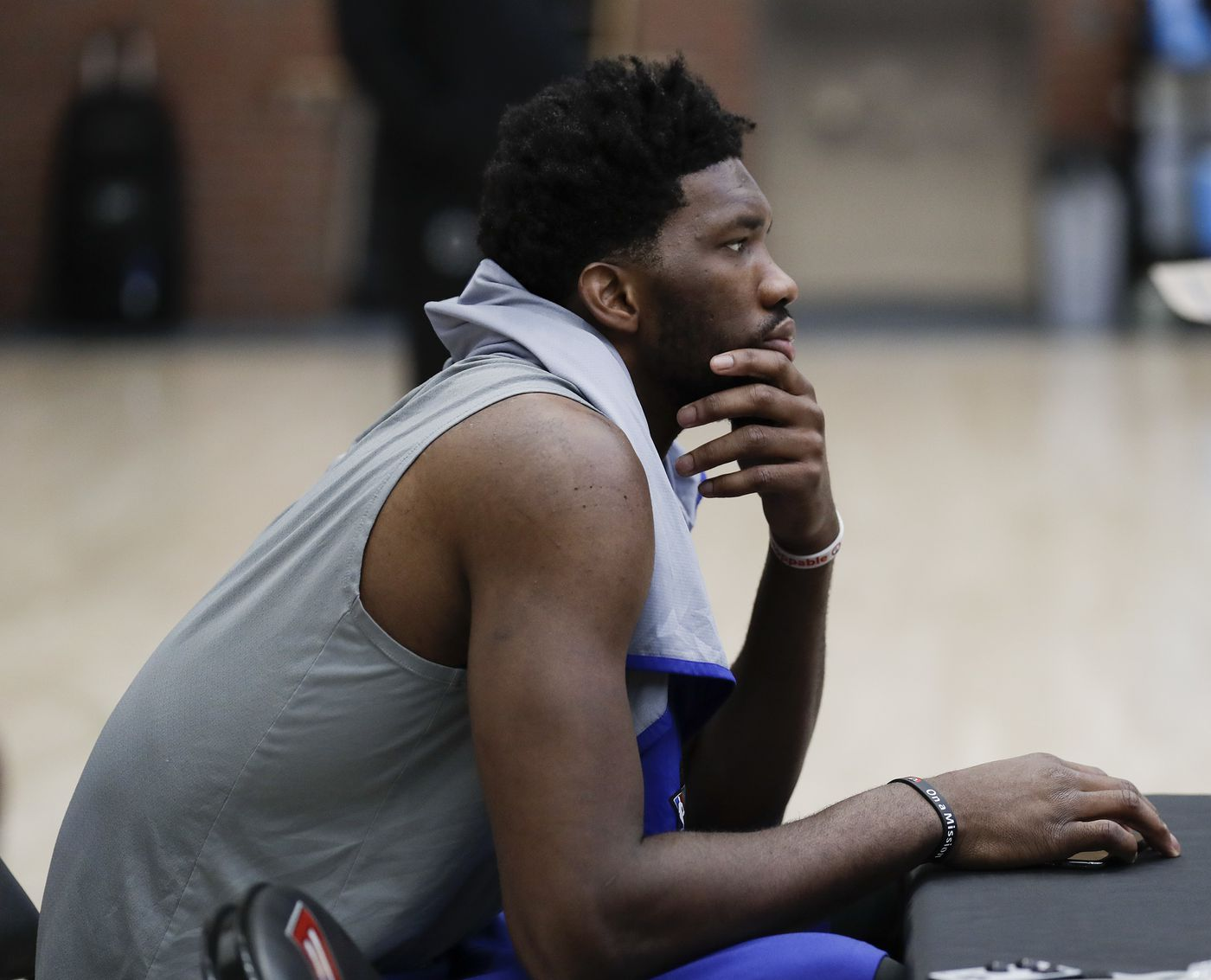 Joel Embiid on Sixers missing out on LeBron James, Paul George, Kawhi Leonard: 'I want to be better than those guys'