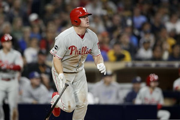 By the numbers: How the Phillies survived six days in California