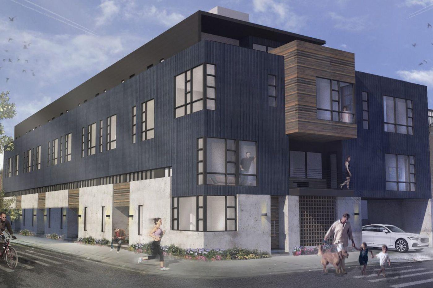 Developer PRDC plans high-end rowhouse complex near Berks rail station