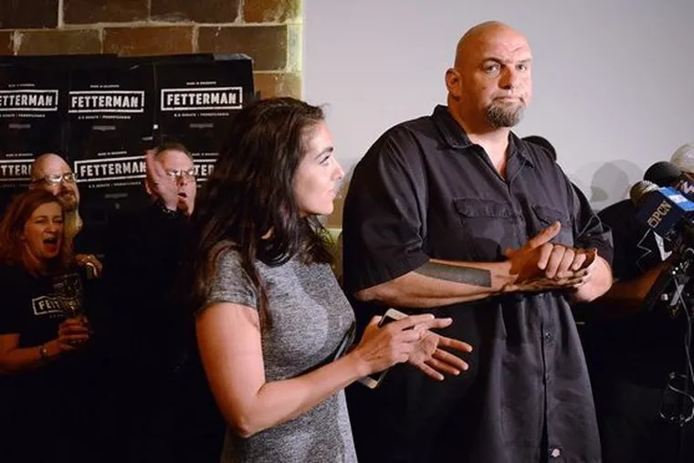 Longtime Braddock, Pa. Mayor John Fetterman on Tuesday jumped into the growing Democratic primary for lieutenant governor, intending to dislodge incumbent Lt. Gov. Mike Stack, who has been at odds with Gov. Wolf.