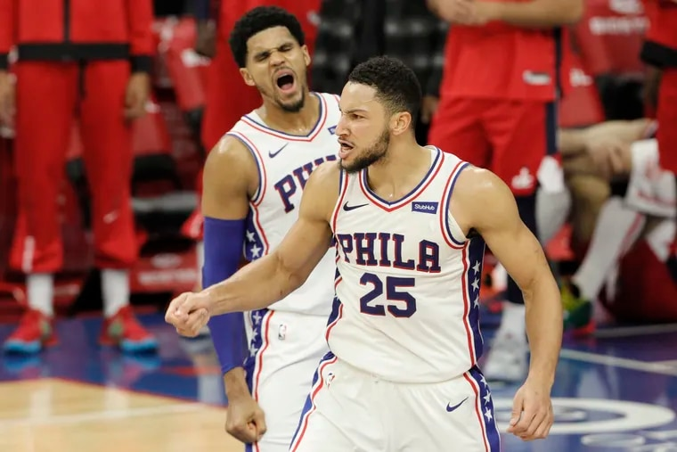 Tobias Harris and his Sixers teammates planned to meet with Ben Simmons in Los Angeles to convince the three-time All-Star to commit to the team for this season.
