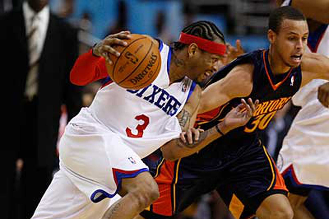 Injured Iverson to miss 76ers' game with Celtics