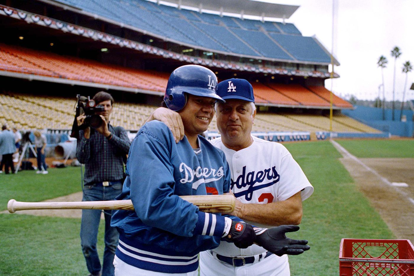 Dodgers legend Tommy Lasorda, a proud Norristown native, dies at 93