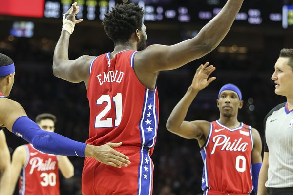 Joel Embiid rebounds in big way from tumultuous two days in Sixers' win over L.A. Clippers