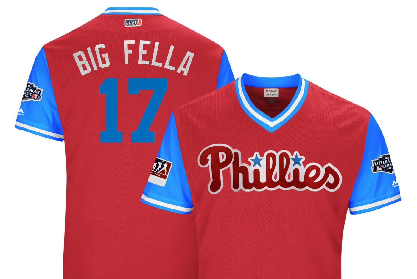 Phillies to wear nicknames on jerseys for Players Weekend: Find who's called 'Big Fudge,' 'Big Fella' and 'Bigger Fella'