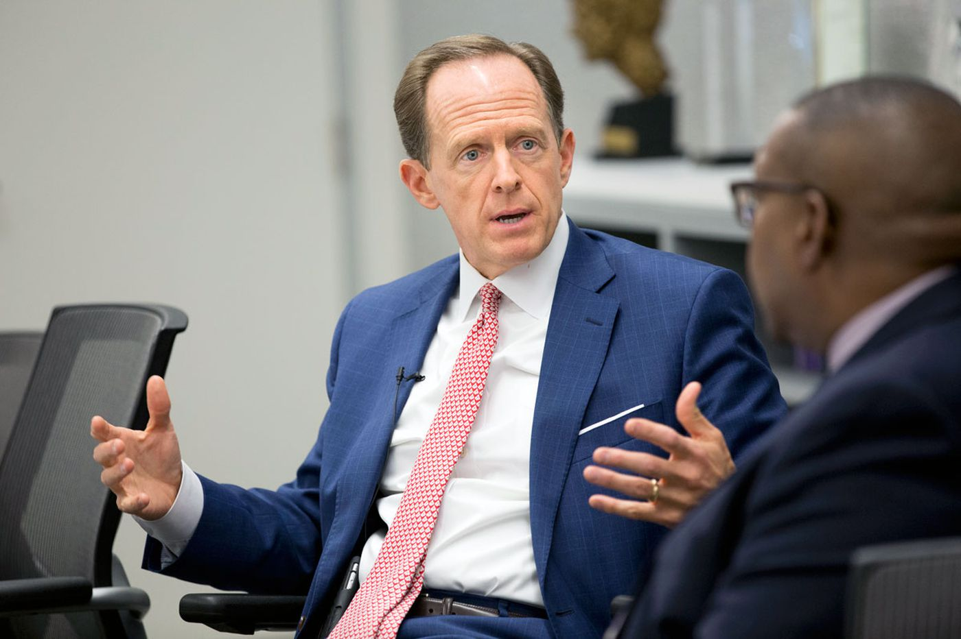 Will Toomey back Trump? He says he may not tell voters