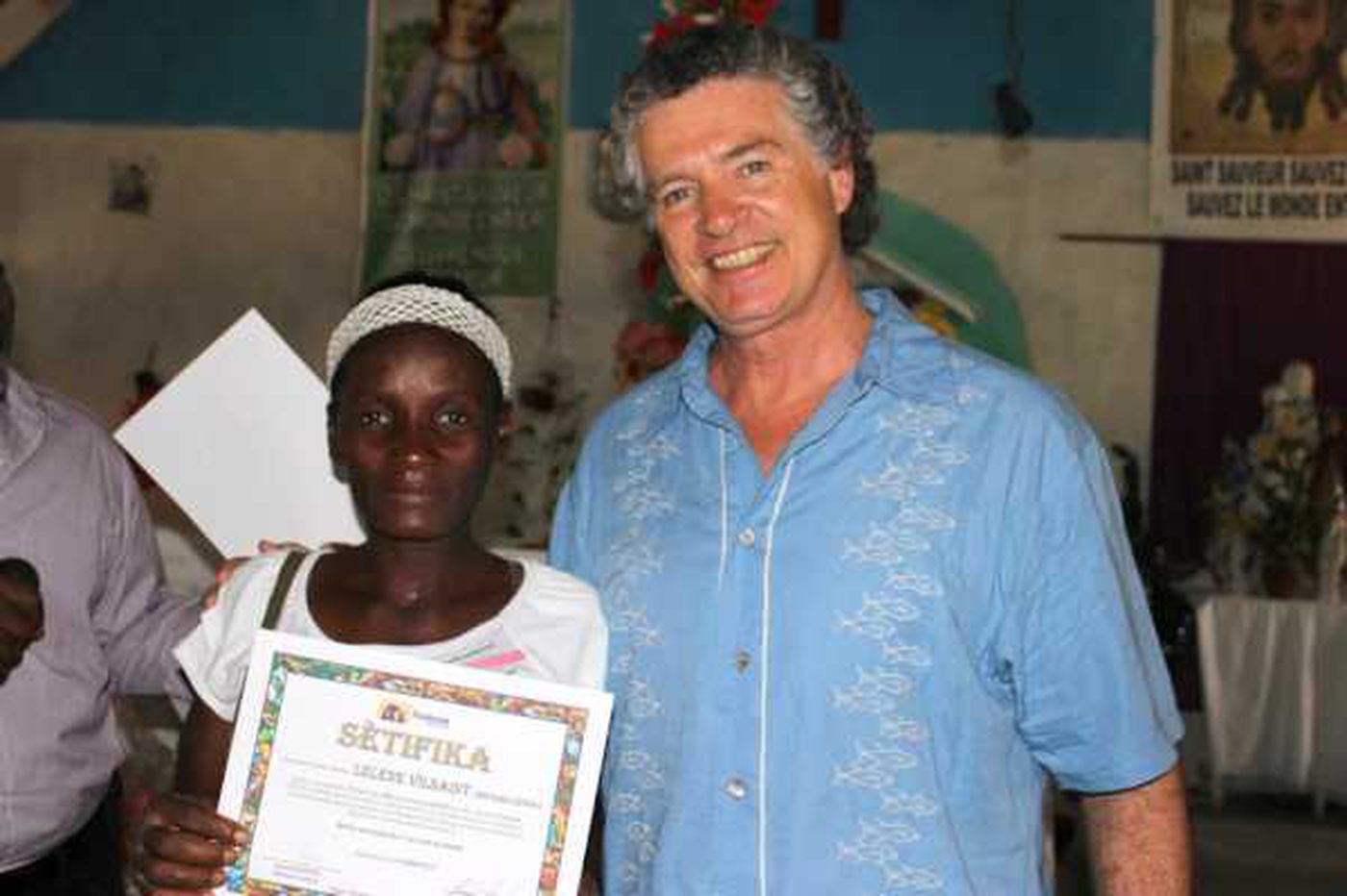 Retired music producer now plays in tune with Haiti microfinance nonprofit Fonkoze
