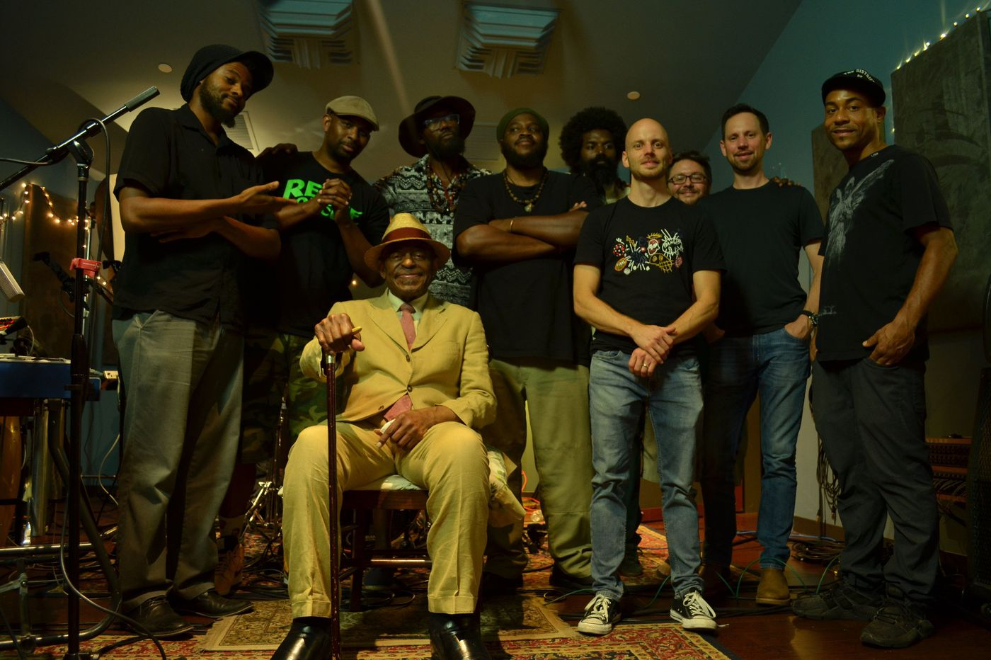 Philly jazz legend Archie Shepp and his rapper nephew Raw Poetic have a new cross-generation project