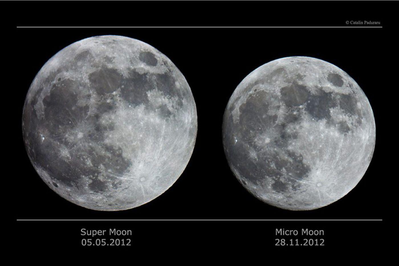 Supermoon, 'blue moon,' snow, so who needs an eclipse?