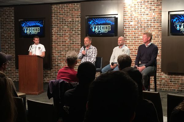 Union's Ernst Tanner, Jim Curtin and Tim McDermott hold town hall with fans