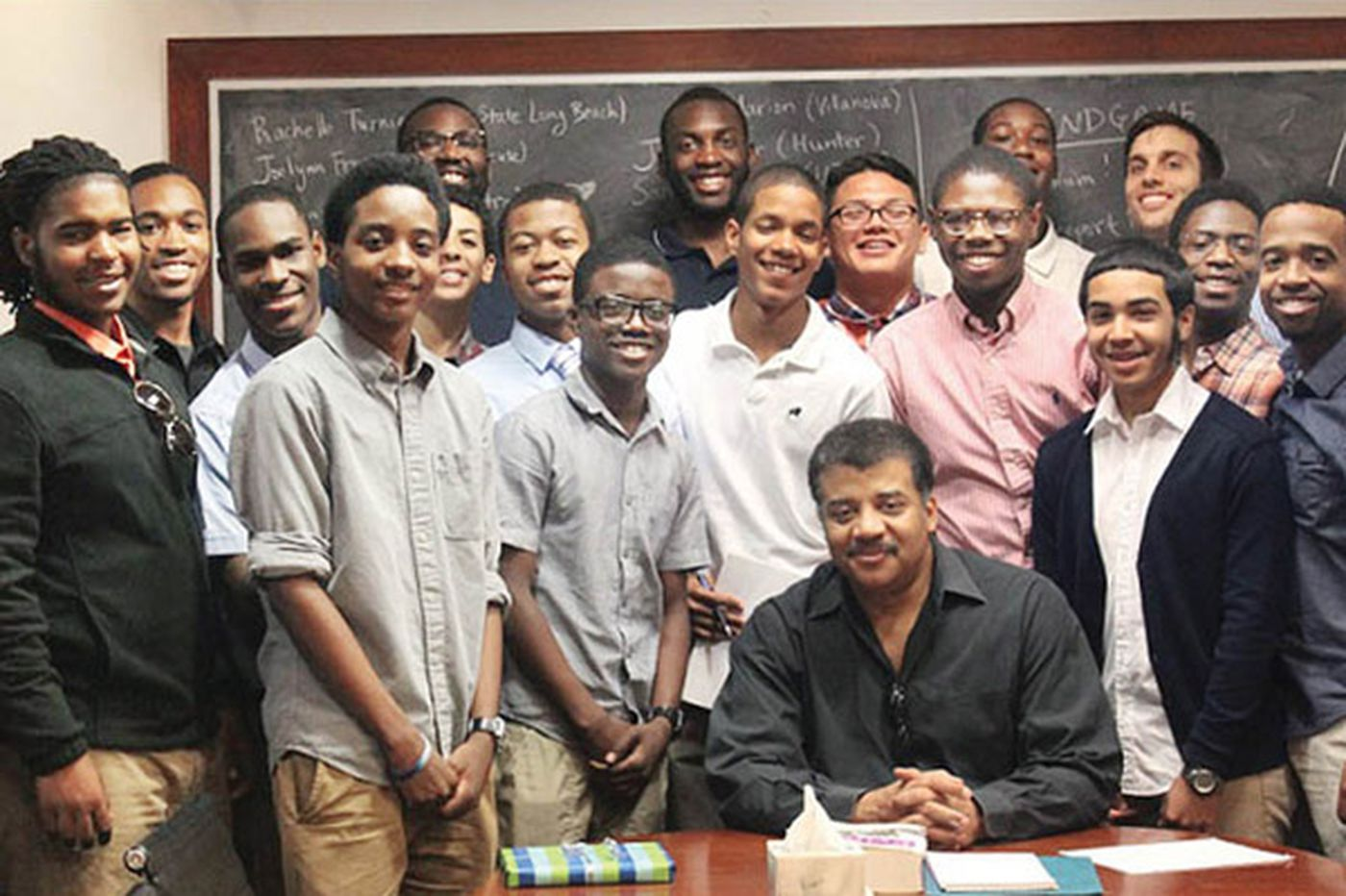 Philly kids meet Neil deGrasse Tyson