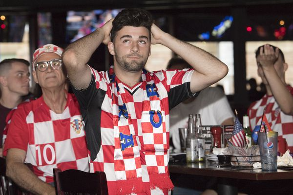 Philly's Croatian World Cup fans: They watched. They roared. Alas, their team came up short