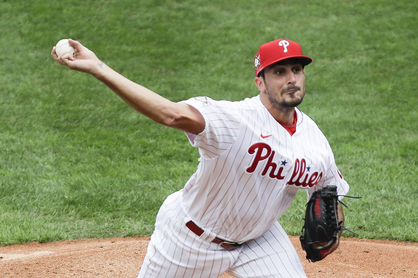 Phillies win fifth game in a row as Zach Eflin throws curve at Braves