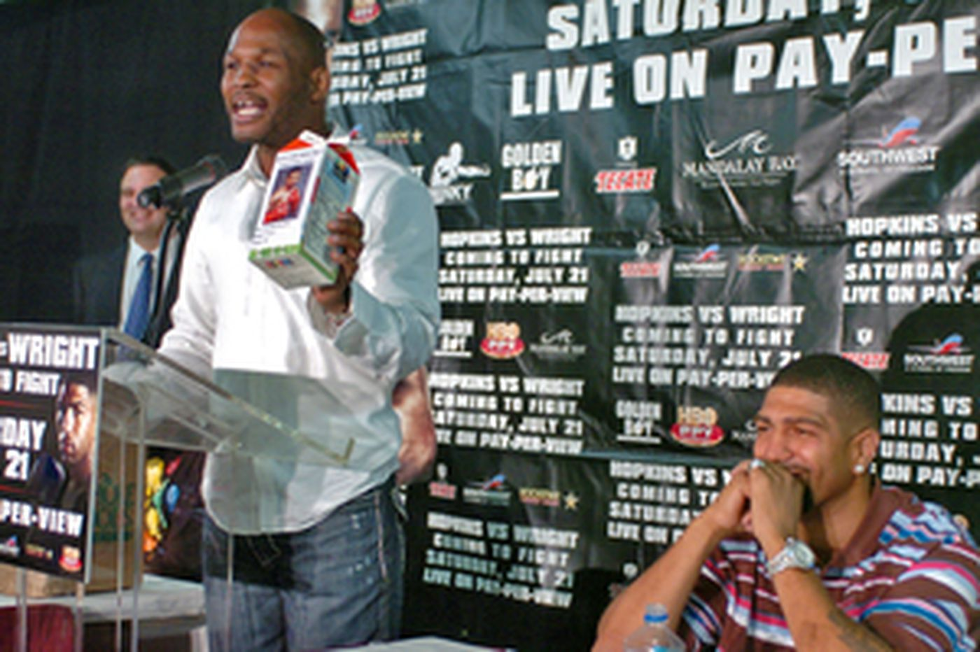 Hopkins promises tough fight