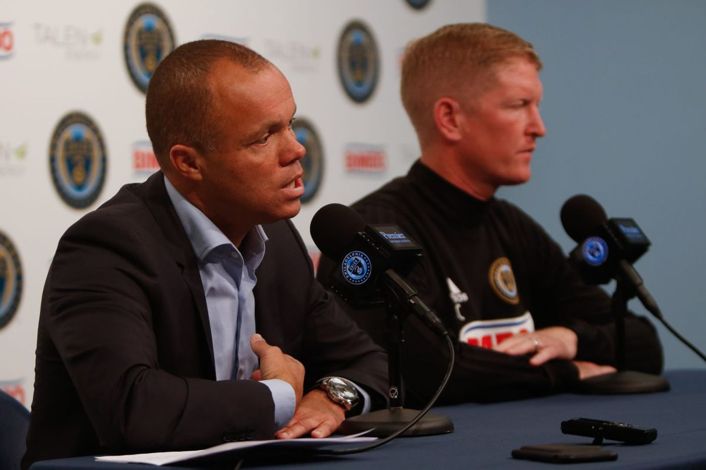 Earnie Stewart gives Union manager Jim Curtin a strong endorsement as offseason begins