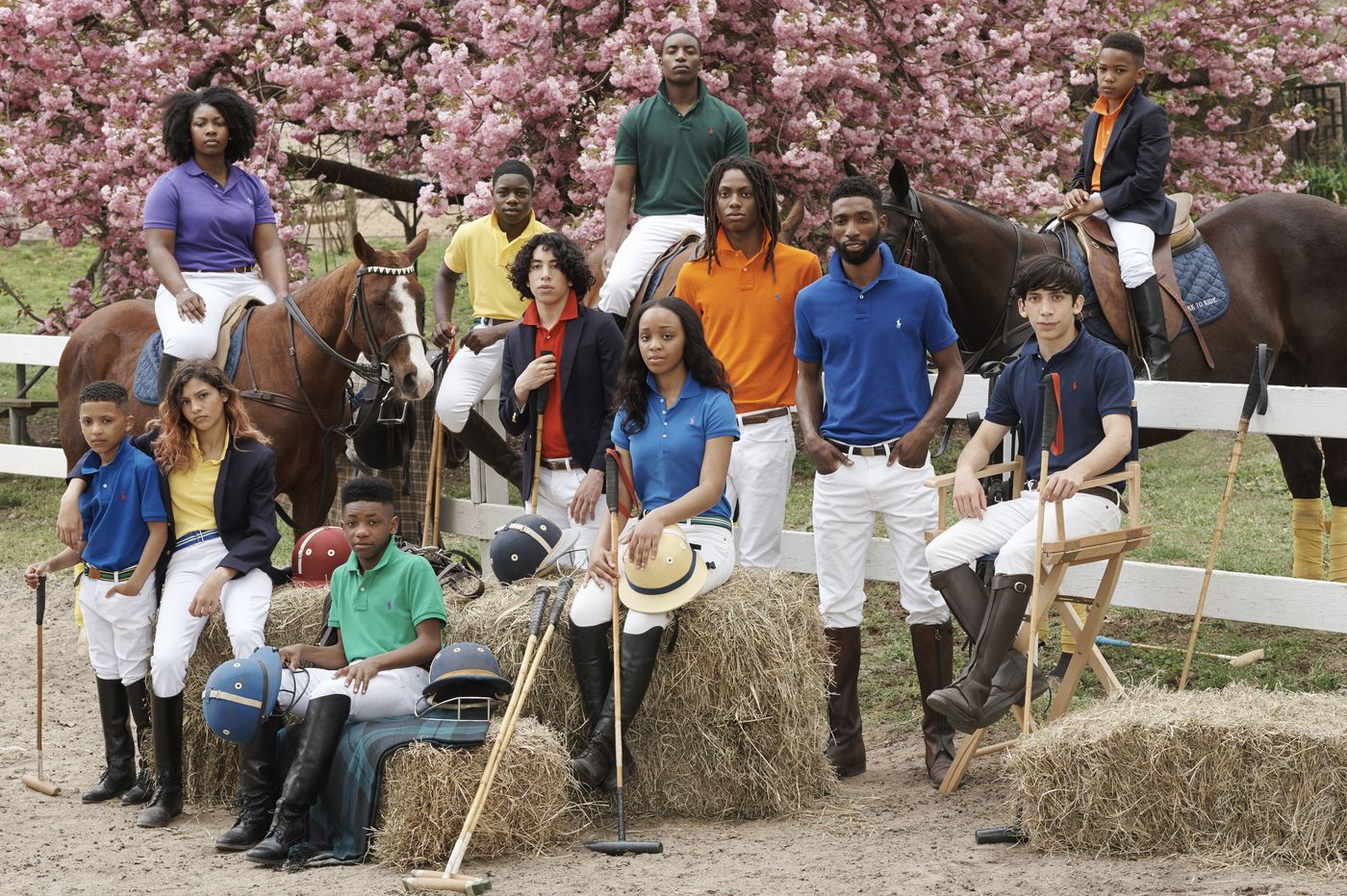 Polo Ralph Lauren visits Philly nonprofit Work to Ride for new campaign