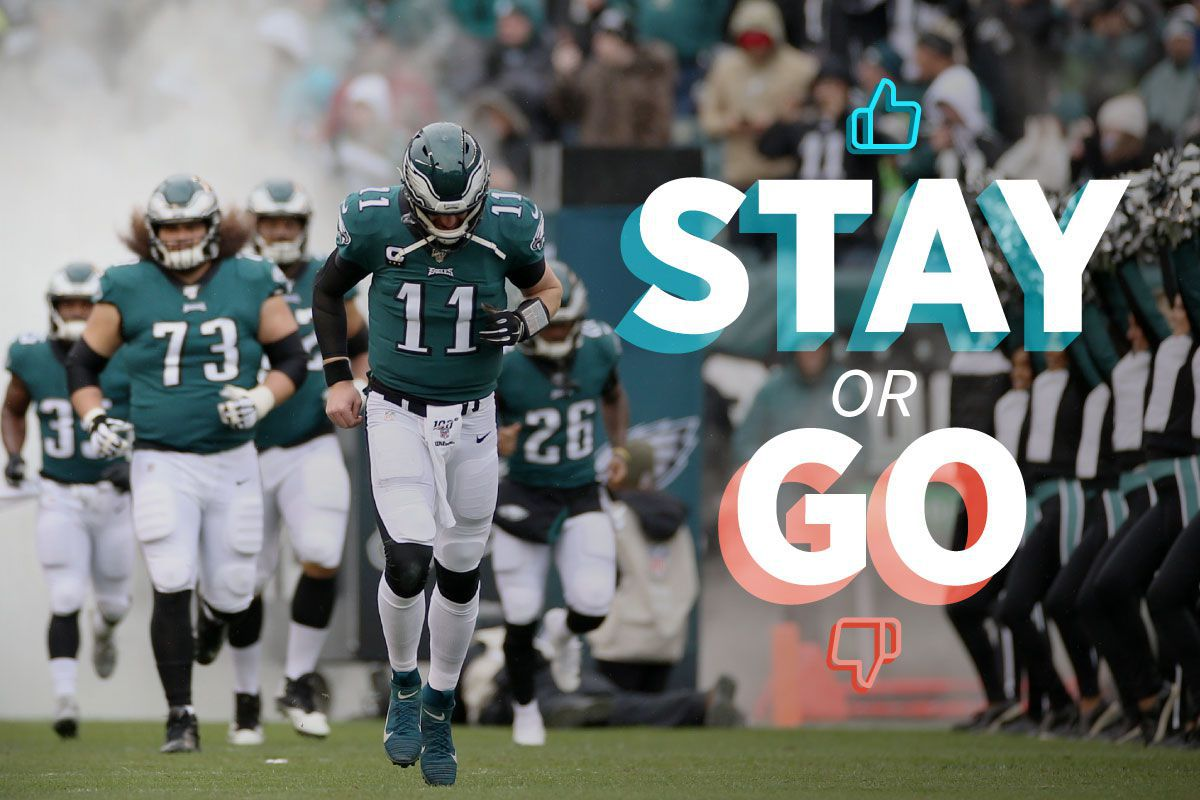 Eagles stay or go: Which players should return next season?