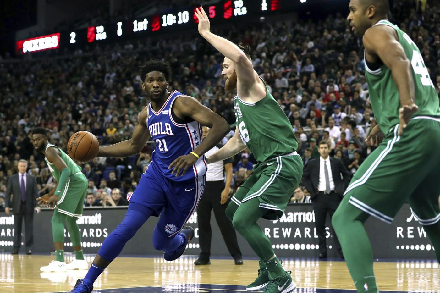 Sixers-Celtics observations, best and worst awards: Jaylen Brown, Robert Covington, another blown lead