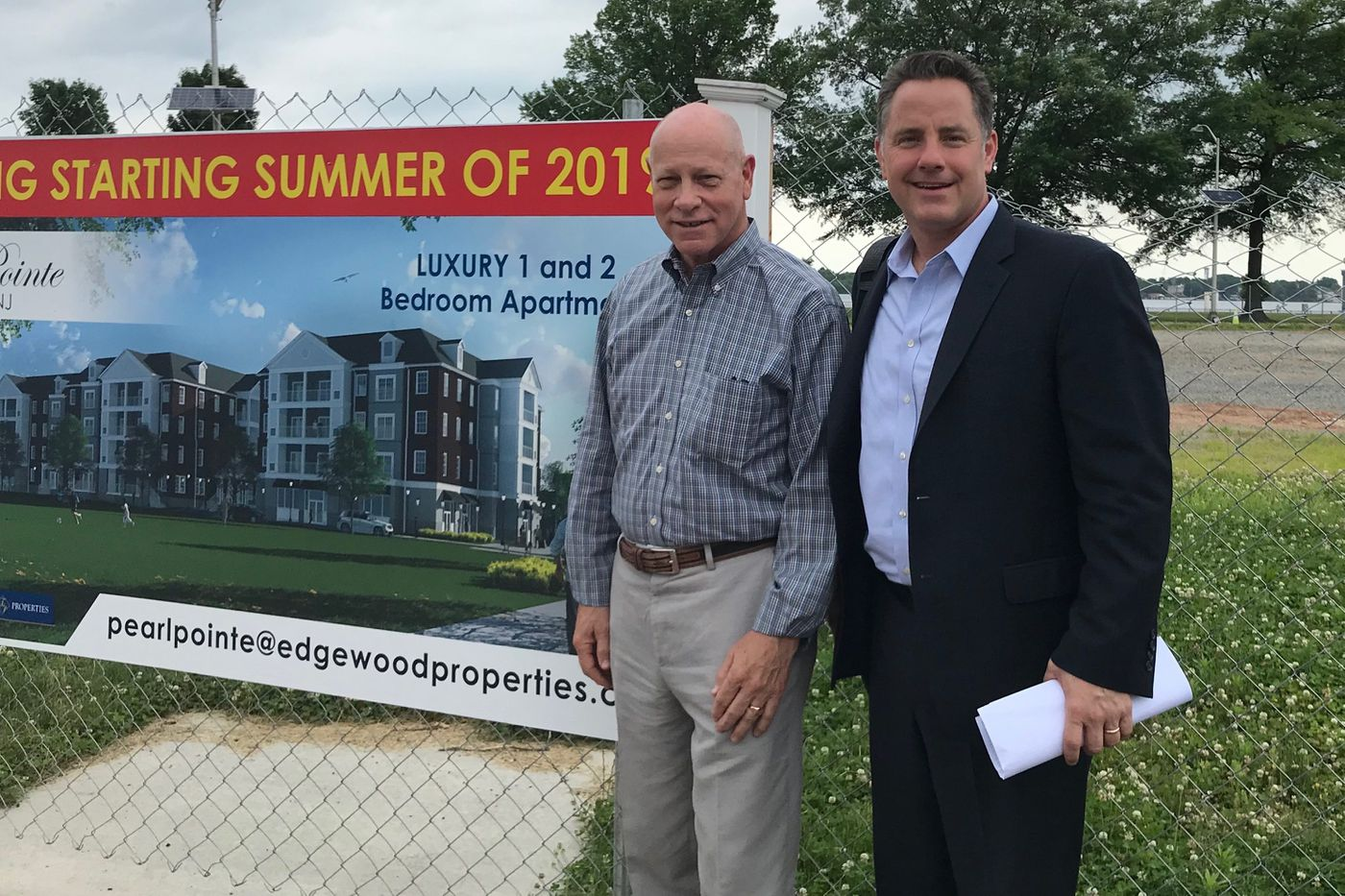 Burlington City hopes to spark a rebirth with luxury riverfront apartments
