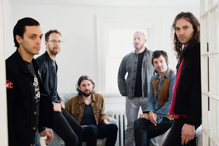 The War On Drugs won best rock album Grammy on Sunday for 'A Deeper Understanding.' Left to right: Anthony LaMarca, Dave Hartley, Robbie Bennett, Jon Natchez, Charlie Hall, Adam Granduciel.