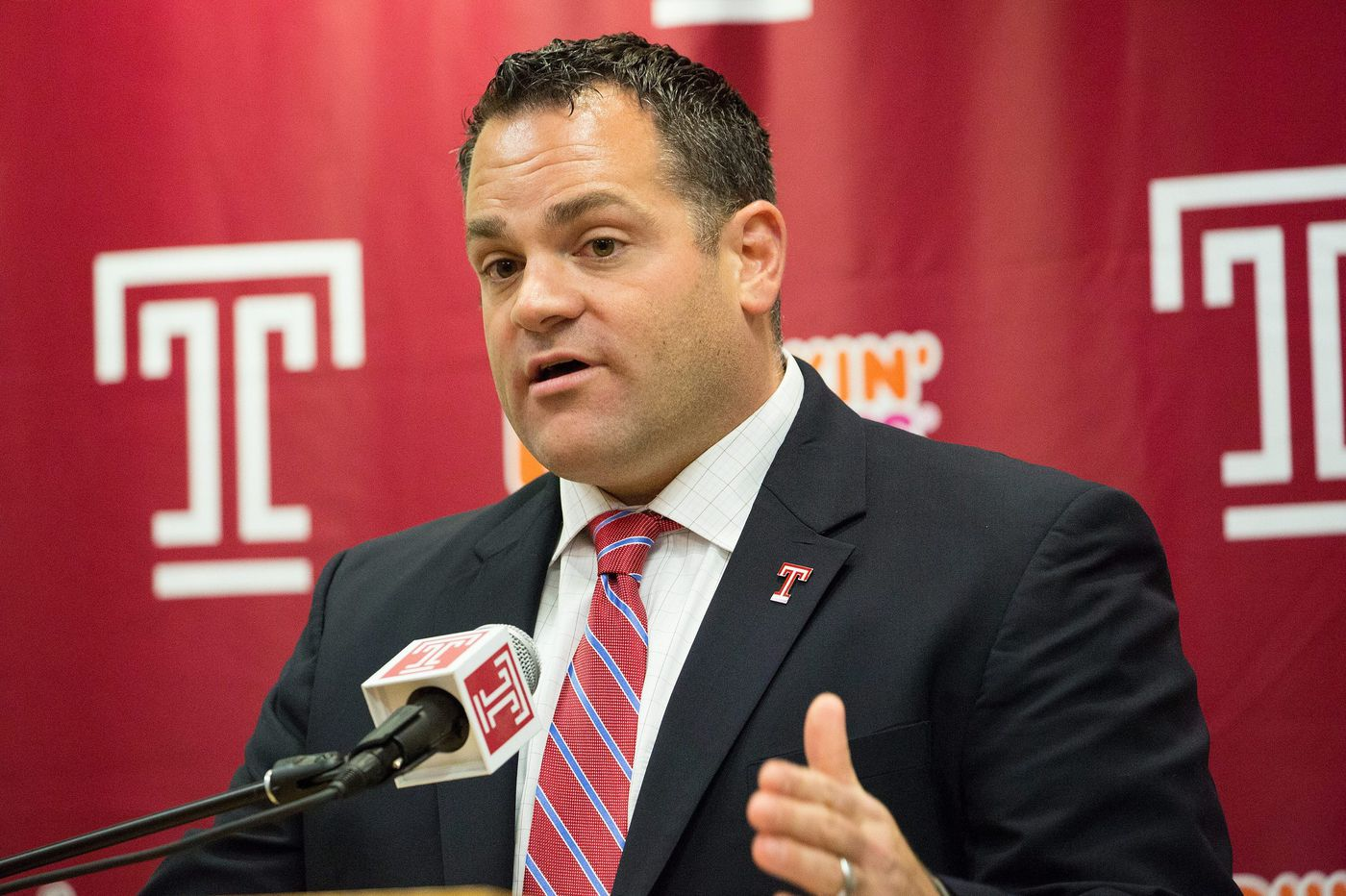 Temple athletic director Patrick Kraft in running for Maryland job