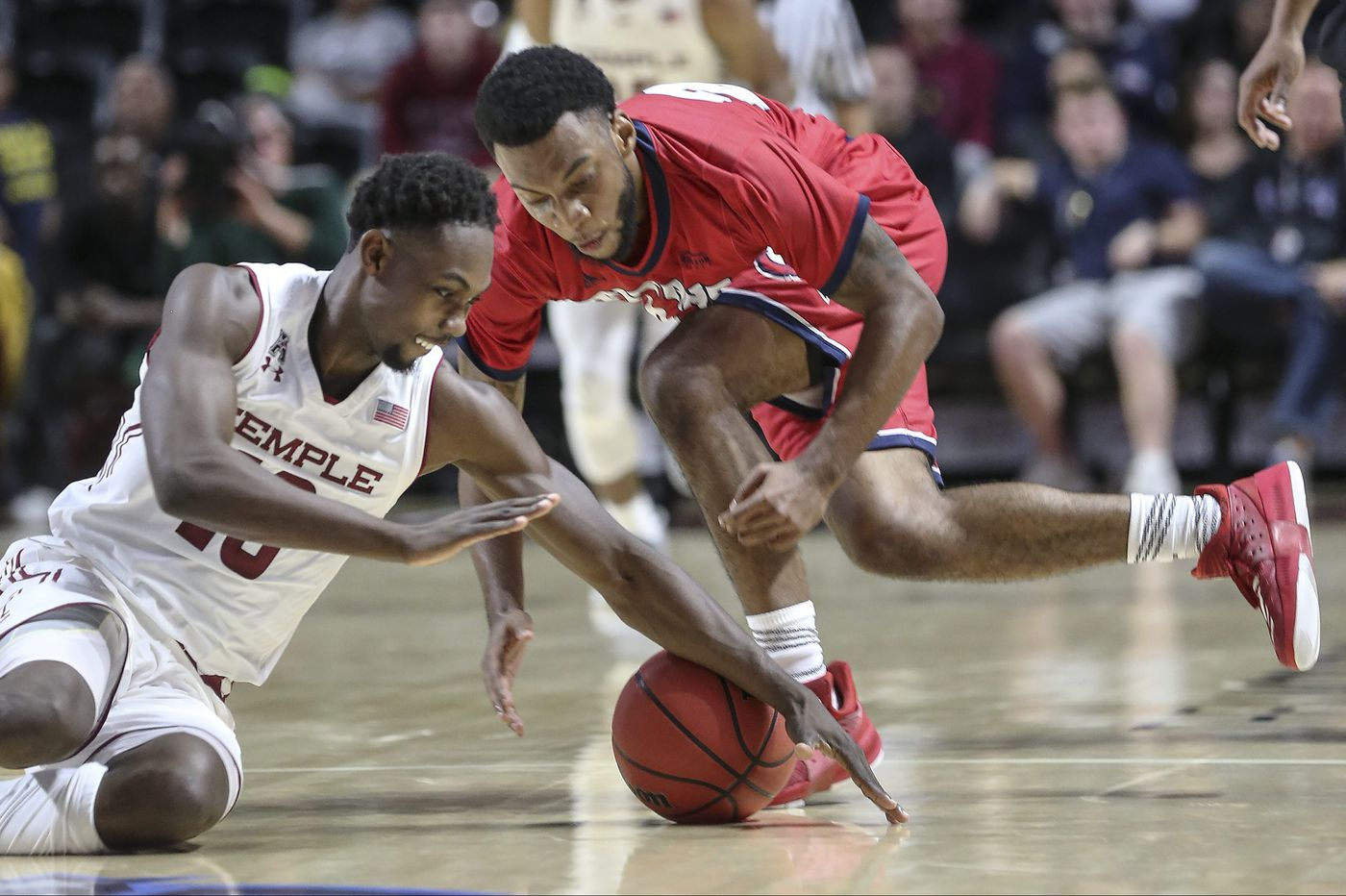 Temple ousts Detroit Mercy behind Shizz Alston's career-high 30 points