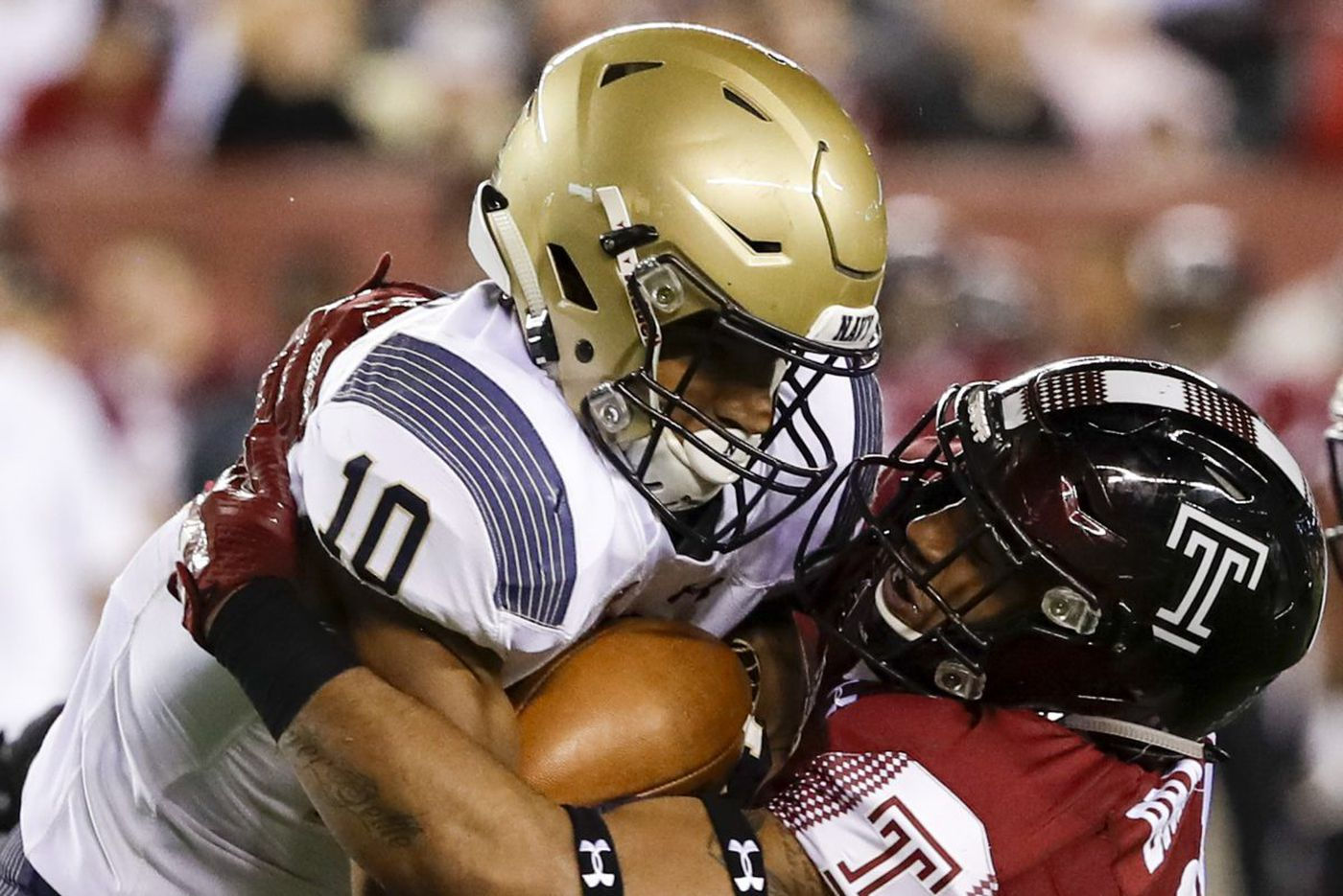 Temple players assess Army and Navy after facing both
