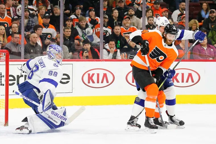 Flyers center Sean Couturier, one of the league's most underrated players, is key to the team's playoff chances.