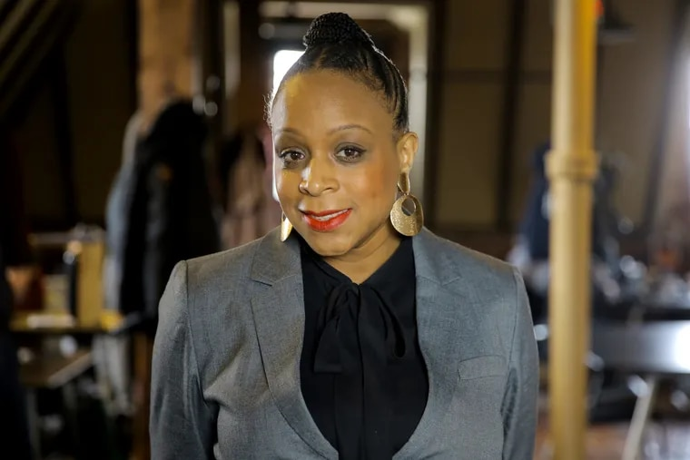 Jamie Gauthier, former head of the Fairmount Park Conservancy in West Philadelphia on Thursday, March 7, 2019. Gauthier is challenging Councilwoman Jannie Blackwell in the 3rd District. Blackwell has represented West Philadelphia since 1992.