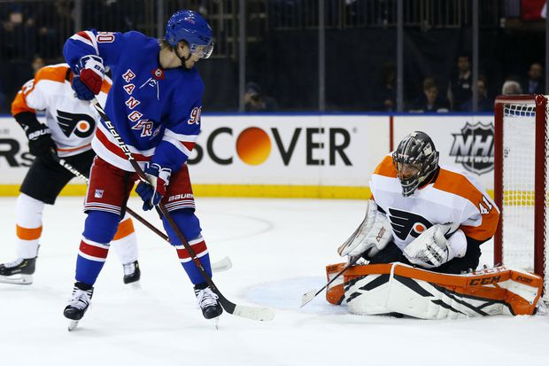 Flyers Beat Rangers For Fifth Straight Victory, Anthony Stolarz Flawless In Net