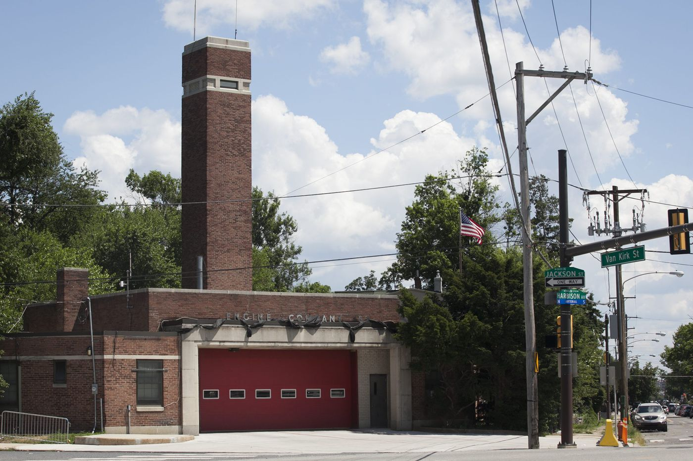 You're not seeing things. Philadelphia's identical firehouses are all over the city