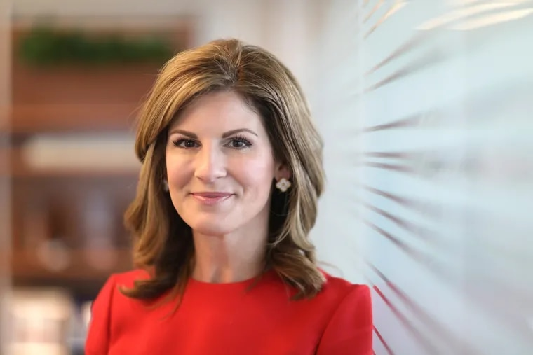 SAP president Jennifer Morgan, named one of the most powerful women in business last year by Fortune, prepares for a fireside chat with Jill Biden in front her employees in November.