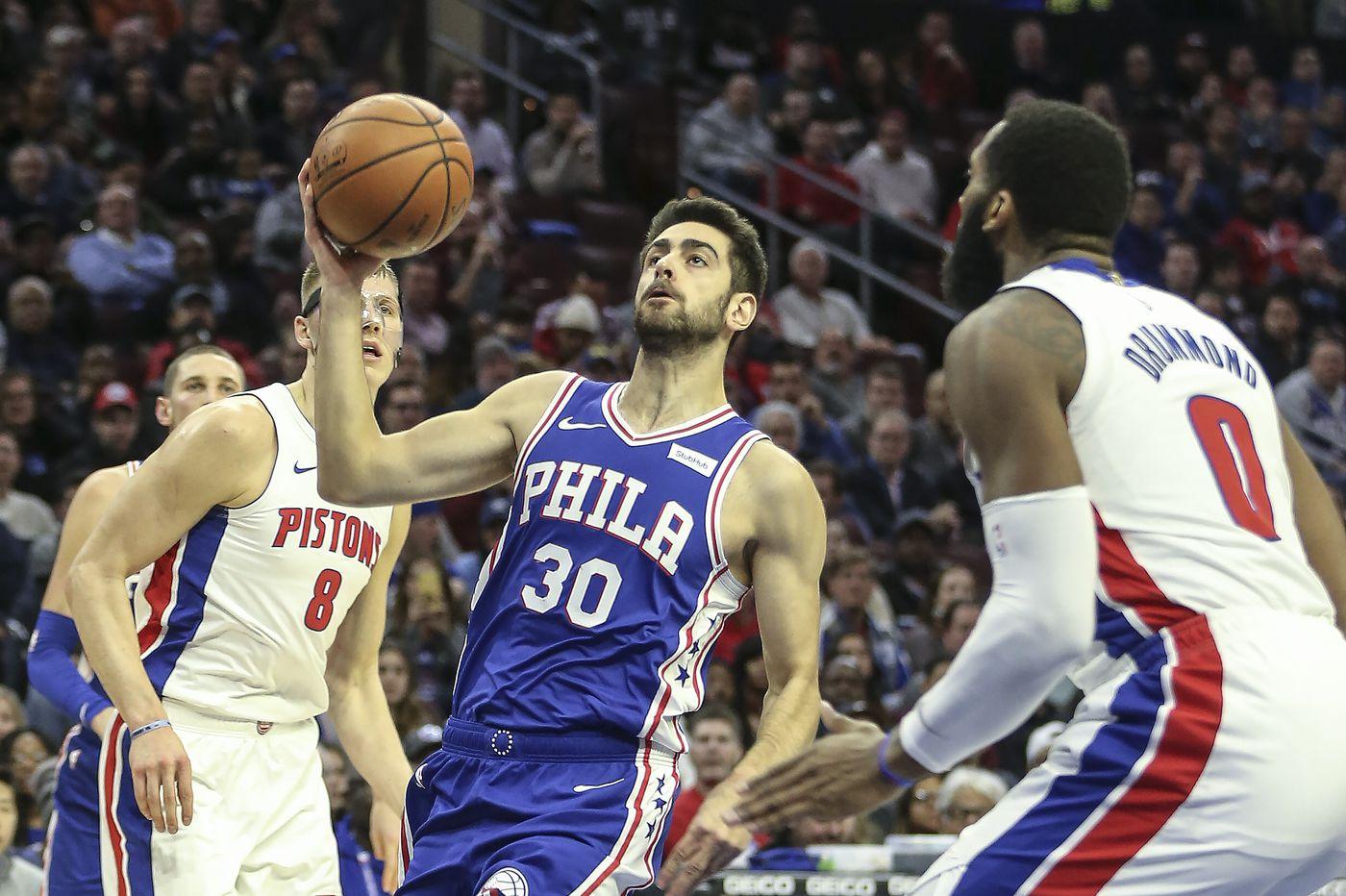 Sixers Pistons Observations Joel Embiids Presence Furkan Korkmazs Emergence Jimmy Butlers Importance