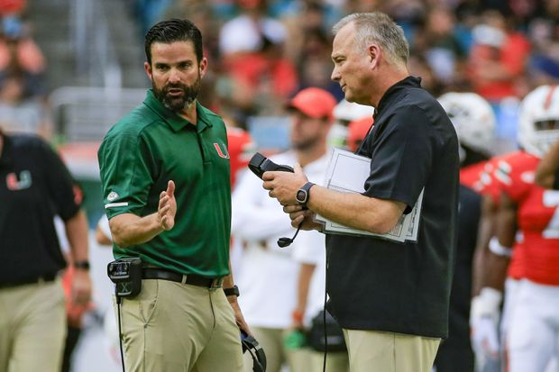 Temple hires Miami's Manny Diaz as its football coach
