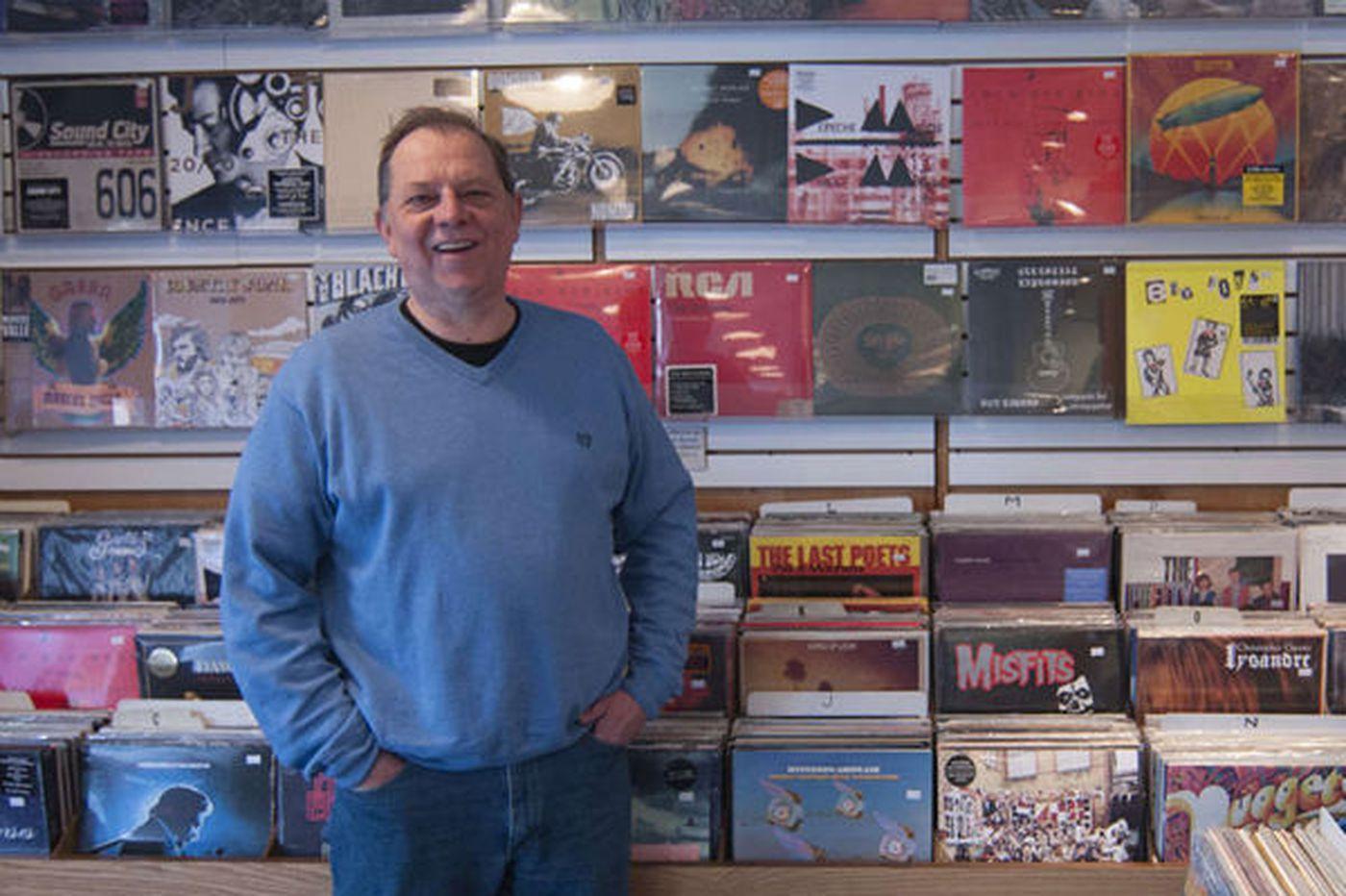 Vinyl's return helps Main Street Music play on