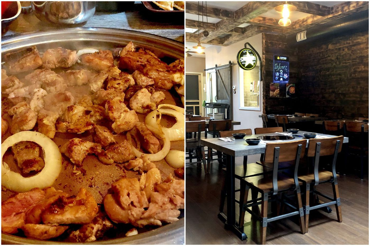 With Songsan, tabletop barbecue comes to Ardmore