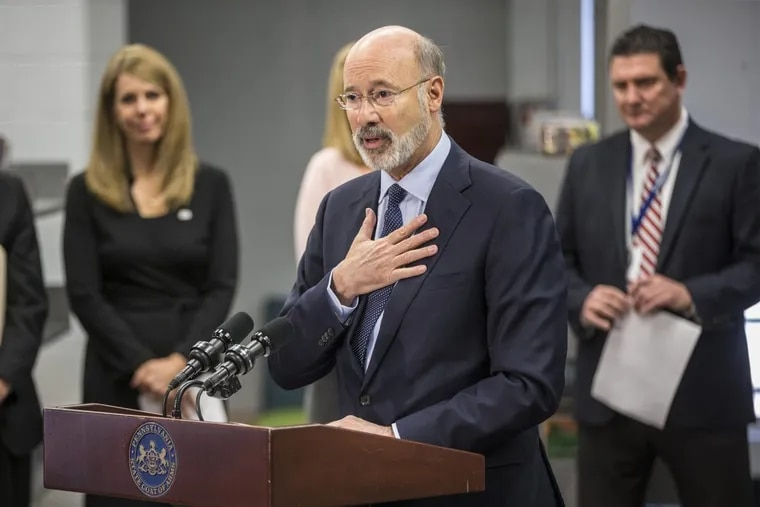 On Wednesday December 6, 2017, at the library in Colonial Middle School in Plymouth Meeting, Pennsylvania Governor Tom Wolf announced that the state, amid a national push against standardized tests, will not only reduce the number of standardized tests administered, but will also push back the administration of the PSSAs back to later in the school year, effective next spring.