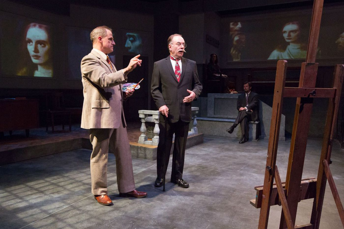 'The Craftsman' at Lantern Theater: Vermeer, worth, fakery, and truth