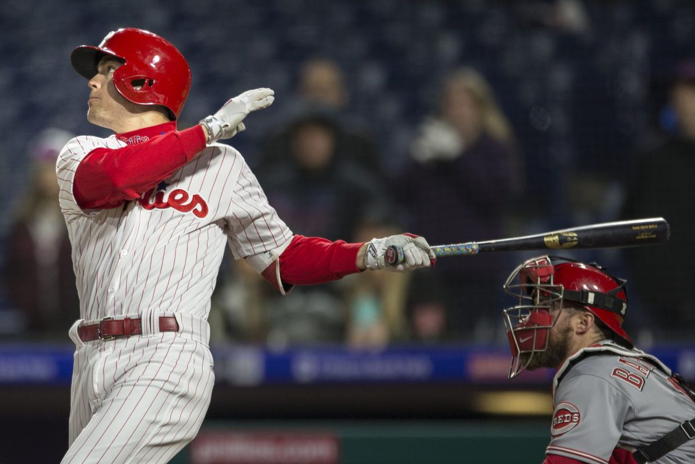 Phillies sweep Reds on Kingery's sacrifice fly, complete 5-1 homestand