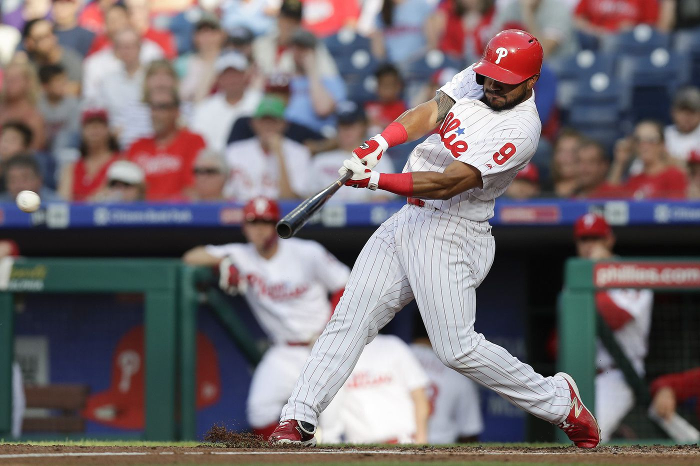 With Aaron Altherr back in triple A, Phillies' focus turns to bolstering bench