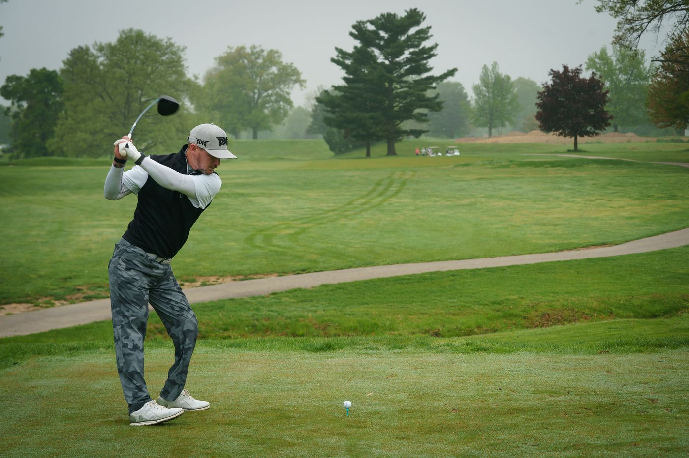 The long game: A veteran from Tacony who lost his legs in Afghanistan finds himself in golf